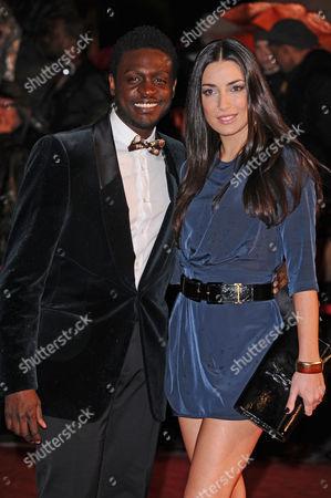 Corneille and Sofia de Medeiros
