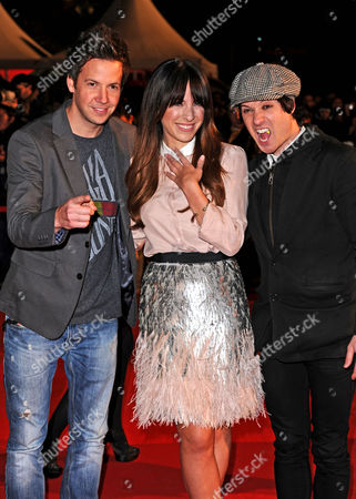 Stock Image of Simple Plan and Marie-Mai Bouchard