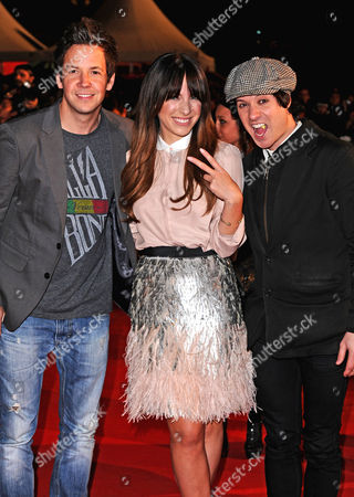Stock Photo of Simple Plan and Marie-Mai Bouchard