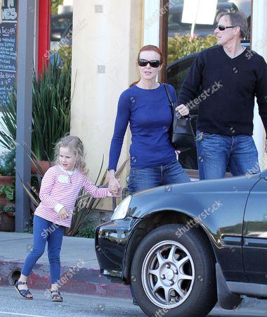 Marcia Cross, Tom Mahoney with daughter Savannah Mahoney