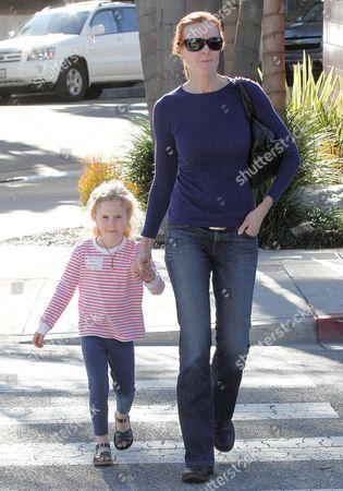 Marcia Cross with daughter Savannah Mahoney