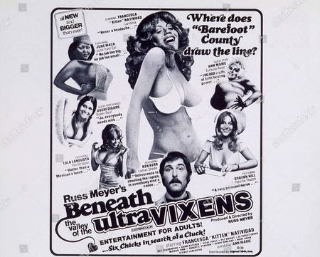 Beneath The Valley Of The Ultra Vixens,  Lola Langusta,  Uschi Digard,  June Mack,  Francesca 'kitten' Natividad,  Ken Kerr,  Ann Marie,  Sharon Hill