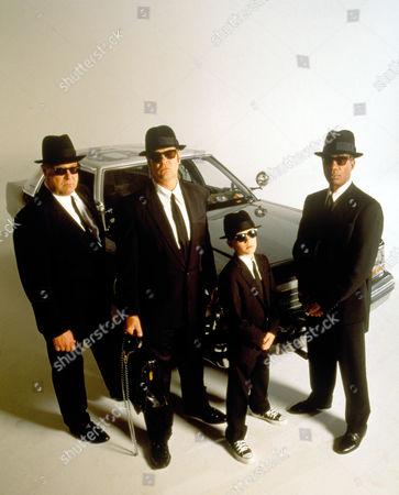 Stock Image of Blues Brothers 2000,  John Goodman,  Dan Aykroyd,  J Evan Bonifant,  Joe Morton