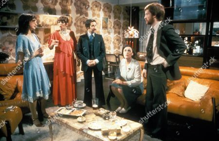 Abigail's Party ,  Janine Duvitski,  Alison Steadman,  Tim Stern,  Harriet Reynolds,  John Salthouse