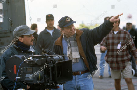 Max McElligott Petersen (Director) on Set 'Air Force One (1997)'