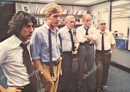 All The President's Men,  Dustin Hoffman,  Robert Redford,  Jason Robards,  Jack Warden,  Martin Balsam