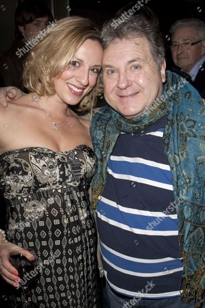 Lizzie Gee (Choreographer) and Russell Grant (Snake)