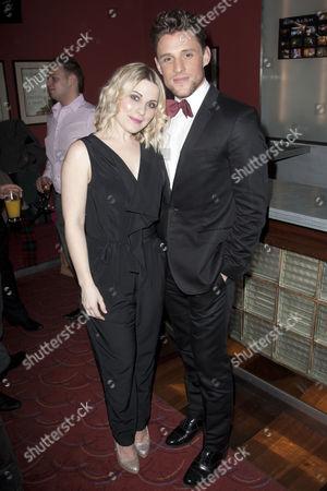 Louise Dearman (Eve) and Oliver Thornton (Adam)