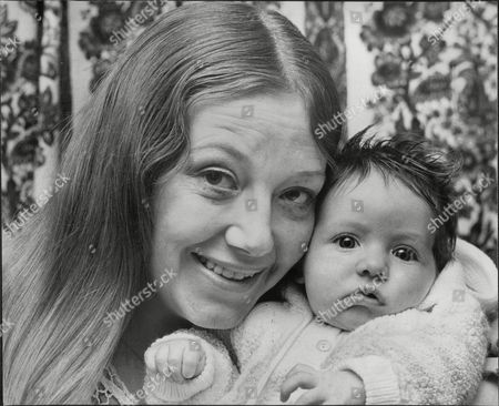 Editorial picture of Actress Mrs Beryl Vosburgh Wife Of Actor And Comedy Writer Dick Vosburgh With Her Daughter Amy Police Drove Her Car To The Pound With Her Two Month Old Baby Asleep Inside