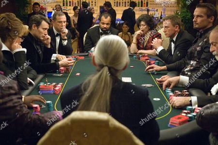 Casino Royale,  Veruschka Von Lehndorff,  Mads Mikkelsen,  Urbano Barberini,  Jeffrey Wright,  Tsai Chin,  Daniel Craig