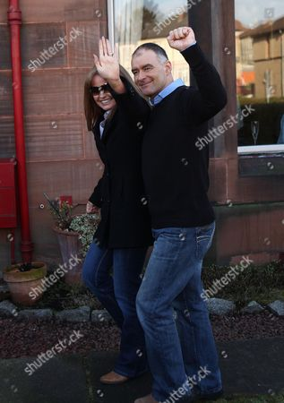 Tommy Sheridan with wife Gail Sheridan