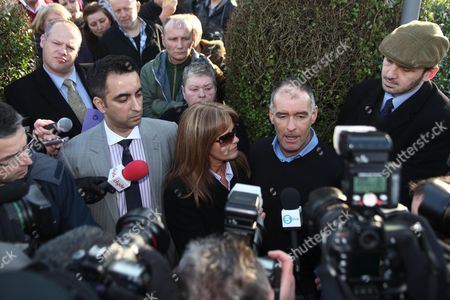 Editorial picture of Tommy Sheridan returns home after being released from prison, Glasgow, Scotland, Britain - 30 Jan 2012