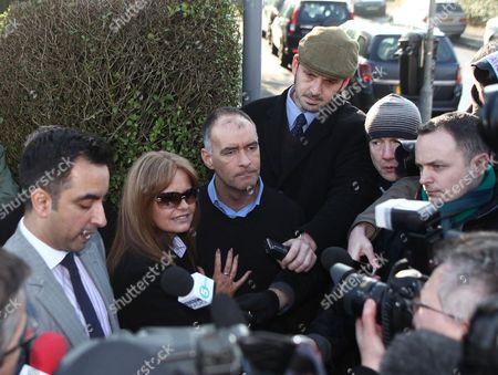 Editorial image of Tommy Sheridan returns home after being released from prison, Glasgow, Scotland, Britain - 30 Jan 2012