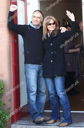 Stock Image of Tommy Sheridan with wife Gail Sheridan