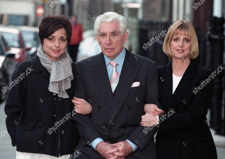 BBC TV cast of 'How Do You Want Me?' - Charlotte Coleman, Frank Finlay and Emma Chambers