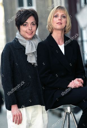 BBC TV cast of 'How Do You Want Me?' - Charlotte Coleman and Emma Chambers
