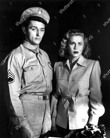 Crossfire,  Robert Mitchum,  Jacqueline White