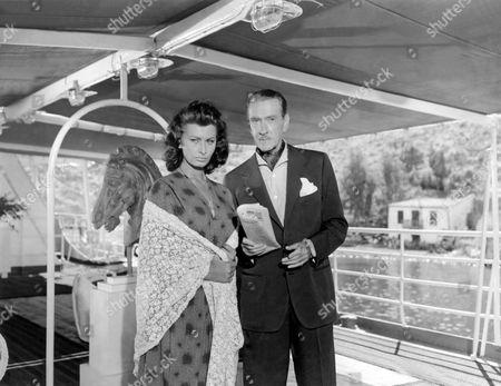 Boy On A Dolphin,  Sophia Loren,  Clifton Webb