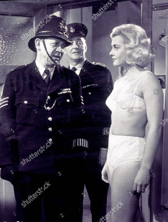 Stock Photo of Carry On Constable,  Sid James, Cyril Chamberlain,  Dorinda Stevens