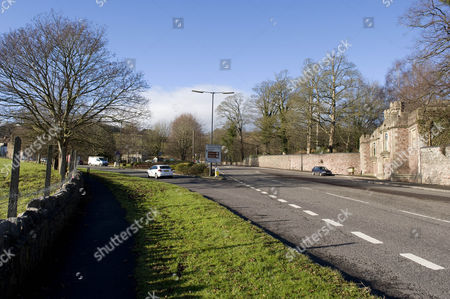 The Entrance To Ashton Court On Coombe Ashton In Bristol. Re- Alternative Route That The Killer May Have Taken The Body Of Joanna Yeates From Her Home In Canynge Road To Longwood Lane. Pic 7 On Map.
