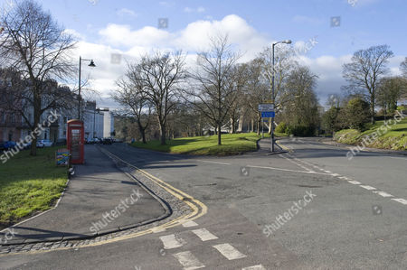 The Junction Of Suspension Bridge Road And Sion Hill Clifton Bristol. Re- Alternative Route That The Killer May Have Taken The Body Of Joanna Yeates From Her Home In Canynge Road To Longwood Lane. Pic 3 On Map.