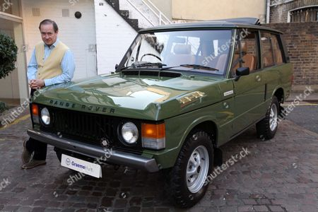 Garage Owner Graeme Hunt With Prince Charles's Ranger Rover That Was Used To Woo Lady Diana Spencer .