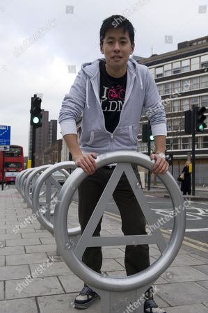 Young Entrepreneur Anthony Lau Md Of Cyclehoop Ltd Picture By Glenn Copus