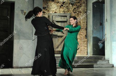 Sarah Solemani as Maryam, Hara Yannas as Adela