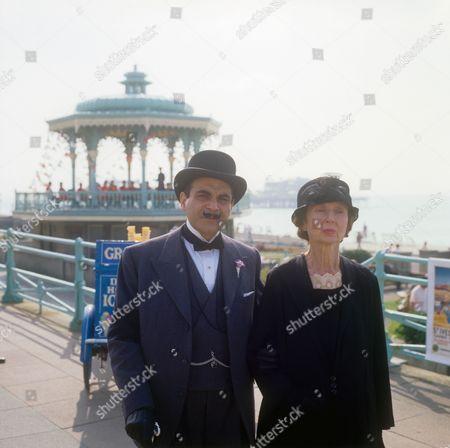 David Suchet and Hilary Mason