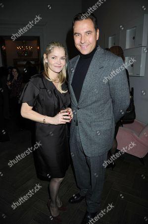 Christina Knudsen and David Walliams