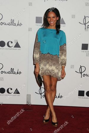 Editorial picture of Pomellato Rodeo Drive Store Opening, Los Angeles, America - 30 Jan 2012