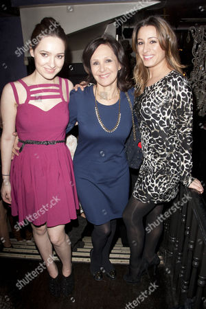 Aby Phillips, Arlene Phillips and Alana Phillips