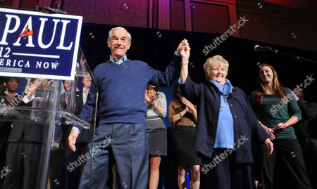 Editorial picture of Ron Paul campaigning in Las Vegas, America - 31 Jan 2012