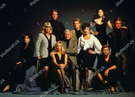 Dynasty: The Reunion ,  Kathleen Beller,  Linda Evans,  Robin Sachs,  Heather Locklear,  John Forsythe,  Al Corey,  Joan Collins,  Emma Samms,  Maxwell Caulfield,  John James