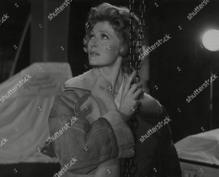 Moira Shearer (dead 01/06) On The Set At Pinewood Studio's Where They Are Filming Peeping Tom