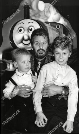 Ringo Starr Former Beatles Drummer Tells Thomas The Tank Engine Story To His Godson