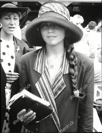 Editorial image of Actress Koo Stark At Ascot Races Kathleen Dee-anne Stark Better Known As Koo Stark (born 26 April 1956 In New York City) Is An American Film Actress And Photographer. She Is Known For Her Appearance In The Film Emily And Subsequent Relationship With