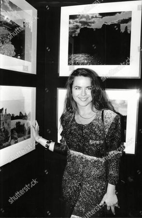 Editorial picture of Actress Koo Stark With Her Photographs At Her Exhibition Kathleen Dee-anne Stark Better Known As Koo Stark (born 26 April 1956 In New York City) Is An American Film Actress And Photographer. She Is Known For Her Appearance In The Film Emily And Subse