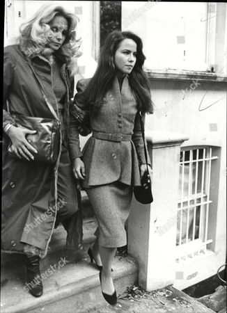 Stock Photo of Actress Koo Stark (right) Koo Stark Better Known As Koo Stark (born 26 April 1956 In New York City) Is An American Film Actress And Photographer. She Is Known For Her Appearance In The Film Emily And Subsequent Relationship With Prince Andrew Son Of Queen Elizabeth II Of The United Kingdom