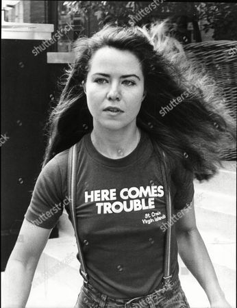 Editorial photo of Actress Koo Stark Leaving Blakes Hotel Kathleen Dee-anne Stark Better Known As Koo Stark (born 26 April 1956 In New York City) Is An American Film Actress And Photographer. She Is Known For Her Appearance In The Film Emily And Subsequent Relationship