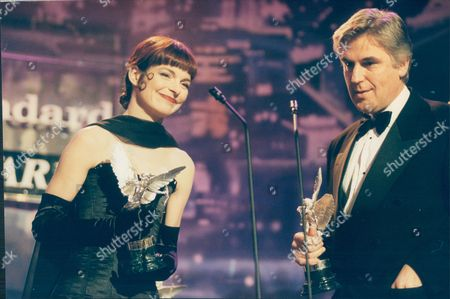 Sandy Powell And Stuart Craig At The Evening Standard Film Awards