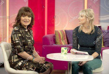 Presenter Lorraine Kelly and Jill Wanless