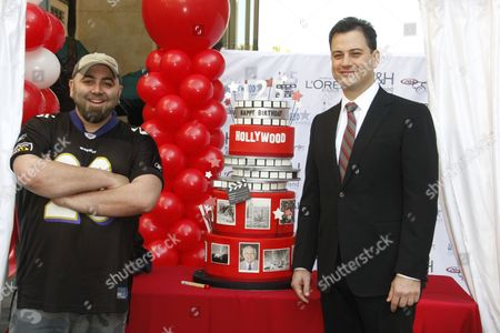 Duff Goldman and Jimmy Kimmel