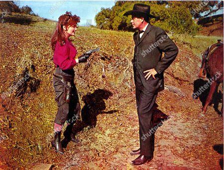 Cimarron,  Anne Baxter,  Glenn Ford
