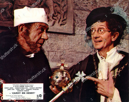 Carry On Henry,  Sid James,  Charles Hawtrey