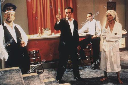 Four Rooms,  Bruce Willis,  Quentin Tarantino,  Paul Calderon,  Jennifer Beals