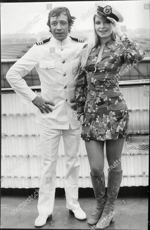 Stock Photo of Actress And Miss World 1969 Eva Rueber-staier With Actor Robin Nedwell Eva Rueber-staier Is An Austrian Actress And Former Miss World. Rueber-staier Was Born In 1951 In Bruck An Der Mur Styria. She Won The Title Of Miss Austria And Participated In The Miss Universe Contest In 1969 In Which She Was A Top 15 Semifinalist. She Went On To Win The Miss World Pageant That Same Year. During Her Tenure She Starred In The Bob Hope Uso Tour In Vietnam.