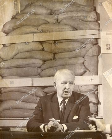 Brian Faulkner Irish Politician Holding A Press Conference. (lord Faulkner Of Downpatrick). He Died In 1977.