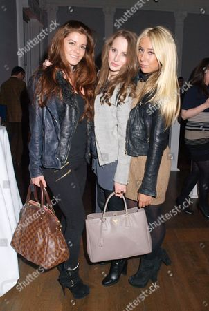 Stock Image of Guest, Rosie Fortescue and Clarissa Walsh