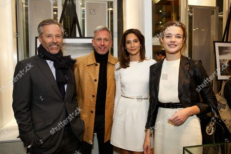 Stock Photo of Alexander Werz, Patrick Cox, Astrid Munoz and Natalia Vodianova
